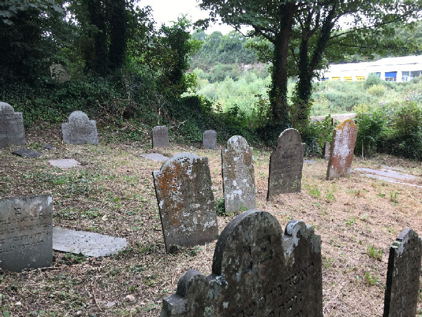 Falmouth Jewish Cemetery - General view