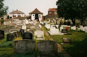 Bristol, Ridgeway (Fishponds) Jewish Cemetery - General view