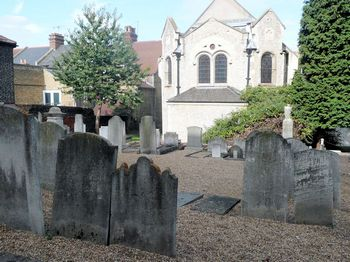 Chatham Jewish Cemetery - general view
