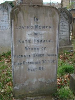 Isaacs, Kate (married name)